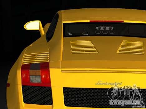 Lamborghini Gallardo für GTA Vice City zurück linke Ansicht