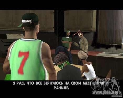 Jason Voorhees pour GTA San Andreas septième écran