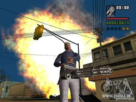 New Realistic Effects pour GTA San Andreas