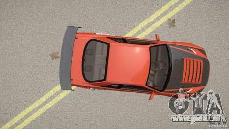 Nissan Skyline GT-R R34 Underground Style pour GTA 4 Vue arrière