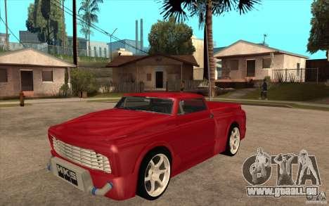 Slamvan Custom pour GTA San Andreas