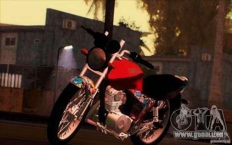 Yamaha YBR für GTA San Andreas