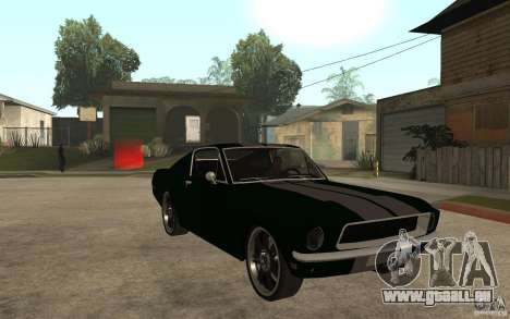 Ford Mustang TOKYO DRIFT pour GTA San Andreas vue arrière