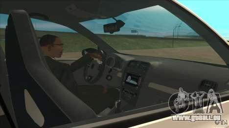 Volkswagen Golf MK6 Hybrid GTI JDM pour GTA San Andreas vue intérieure