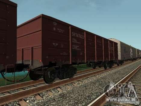 Offener Güterwagen Cargo Unternehmen für GTA San Andreas