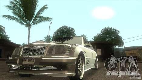 Mercedes-Benz E500 VIP Class für GTA San Andreas Rückansicht