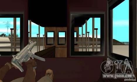 Tram pour GTA San Andreas vue intérieure