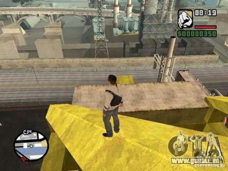 Desmond Miles pour GTA San Andreas cinquième écran