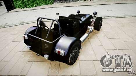 Caterham 7 Superlight R500 für GTA 4 linke Ansicht