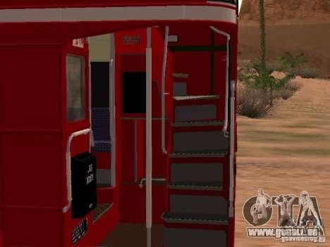 AEC RouteMaster RML für GTA San Andreas Innenansicht