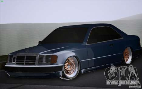 Mercedes-Benz W124 Low Gangster pour GTA San Andreas