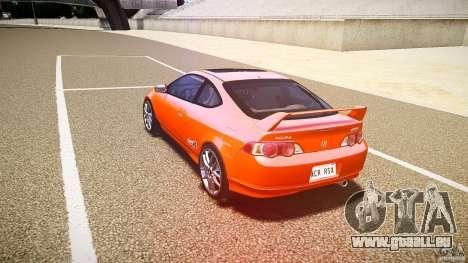 Acura RSX TypeS v1.0 stock für GTA 4 hinten links Ansicht