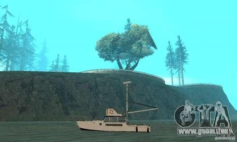 Reefer GTA IV pour GTA San Andreas sur la vue arrière gauche