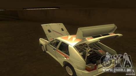 Citroen BX 4TC pour GTA San Andreas vue intérieure