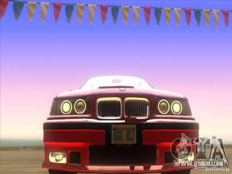 BMW E36 pour GTA San Andreas vue de côté