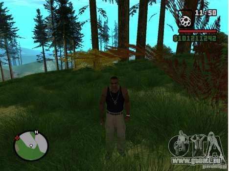 Real Grass v1.0 für GTA San Andreas zweiten Screenshot