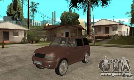 UAZ Patriot für GTA San Andreas linke Ansicht
