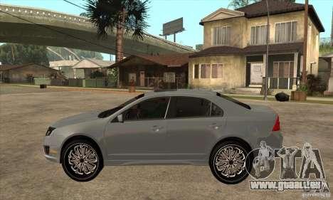 Ford Fusion V6 DUB 2011 pour GTA San Andreas laissé vue