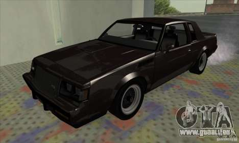 Buick Regal GNX 1987 pour GTA San Andreas