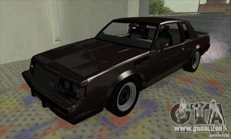 Buick Regal GNX 1987 für GTA San Andreas