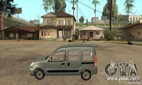 Renault Kangoo 2005 pour GTA San Andreas laissé vue