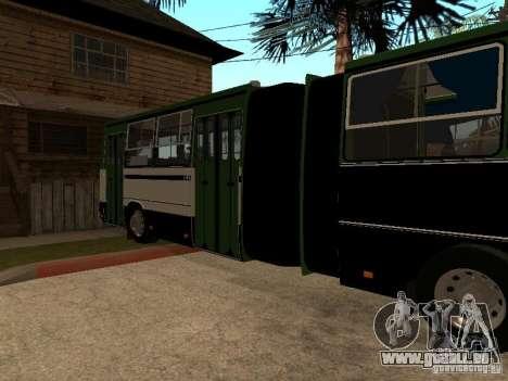 Trailer für IKARUS 280 33 m für GTA San Andreas linke Ansicht