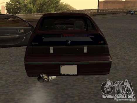 Honda Civic CRX JDM pour GTA San Andreas vue de côté