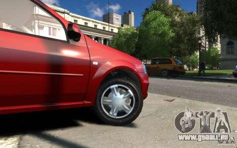 Dacia Logan 2008 pour GTA 4 Vue arrière
