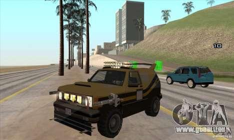 Machine de voiture-mort de mort pour GTA San Andreas