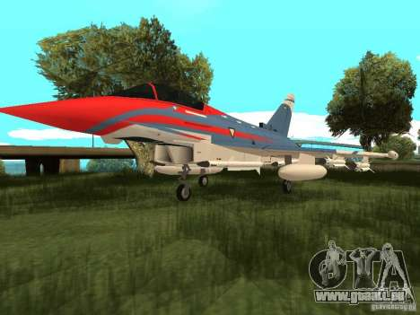 Eurofighter Typhoon für GTA San Andreas