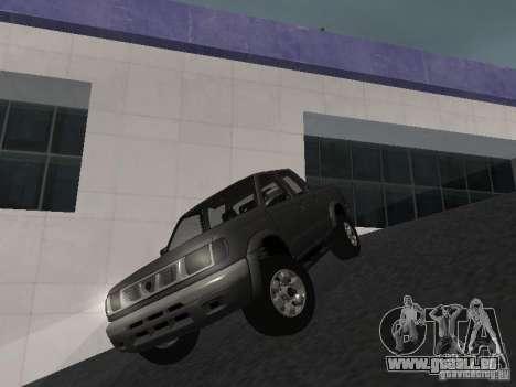 Nissan Frontier für GTA San Andreas Rückansicht
