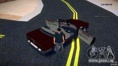 Feltzer HD pour GTA San Andreas vue de dessus