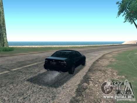 BMW M5 E39 2003 für GTA San Andreas Rückansicht