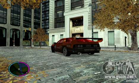 Mazda RX-7 FC for Drag pour GTA San Andreas vue arrière