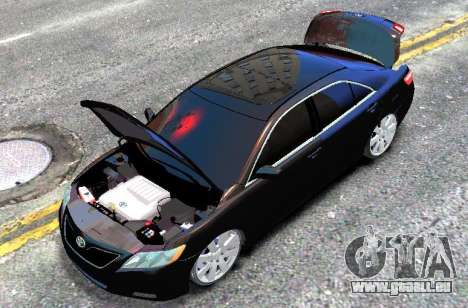 Toyota Camry V6 3.5 2007 pour GTA 4 est un droit