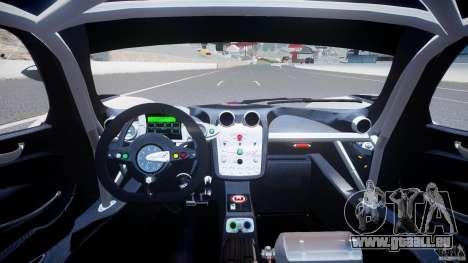 Pagani Zonda R 2009 Italian Stripes für GTA 4 rechte Ansicht