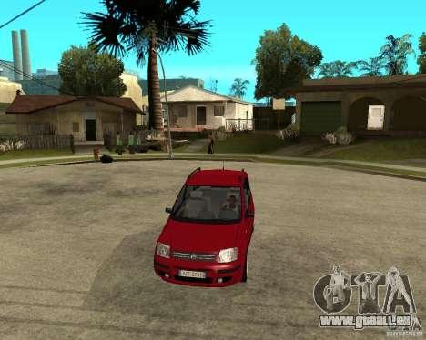 2004 Fiat Panda v.2 für GTA San Andreas Rückansicht