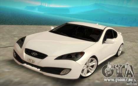 Hyundai Genesis 3.8 Coupe für GTA San Andreas