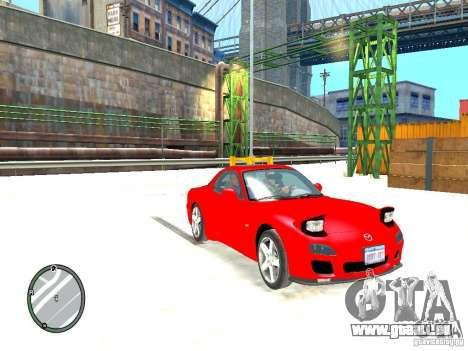 Mazda RX-7 Type RZ pour GTA 4 est un droit