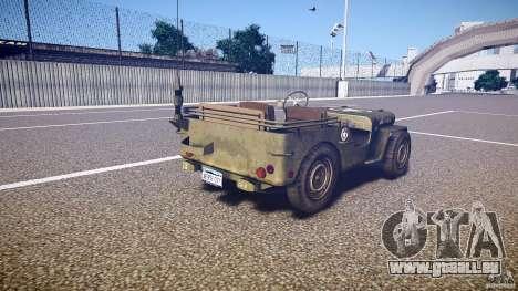Walter Military (Willys MB 44) v1.0 für GTA 4 Seitenansicht