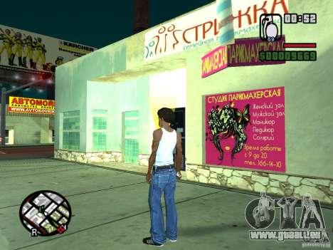 Russian shop für GTA San Andreas