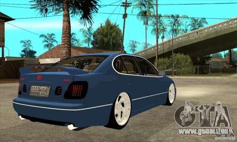 Lexus GS300 V 2003 pour GTA San Andreas vue arrière
