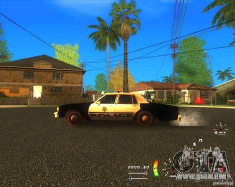 Chevrolet Caprice Classic 1986 LVMPD für GTA San Andreas linke Ansicht
