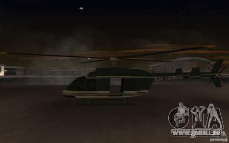 GTA IV Maverick pour GTA San Andreas vue de droite