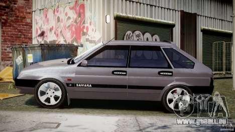 Vaz-2109 Samara 1999 pour GTA 4 est une gauche