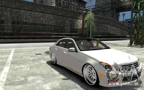 Mercedes Benz E36 AMG 2010 für GTA 4 Rückansicht