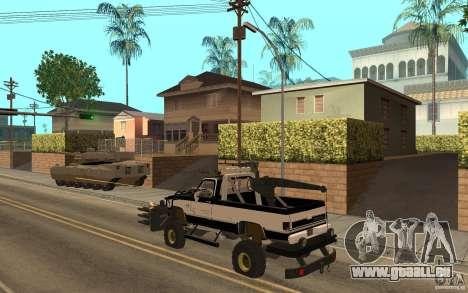 Chevrolet Hunter pour GTA San Andreas vue de droite