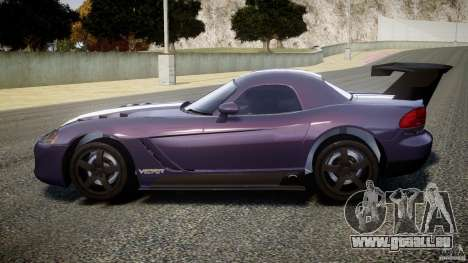 Dodge Viper RT 10 Need for Speed:Shift Tuning pour GTA 4 est une gauche