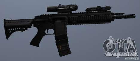 Carabine HK416 pour GTA San Andreas sixième écran