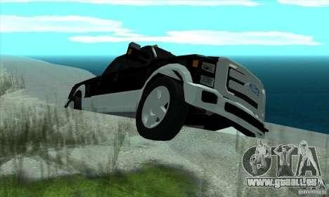 FORD F450 SUPER DUTE pour GTA San Andreas vue de droite